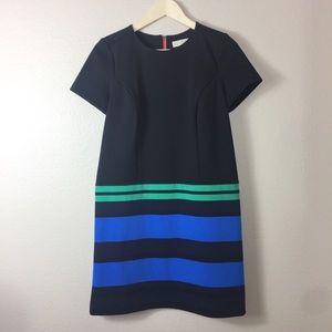 Ann Taylor Loft Color block Shift Dress Size 4